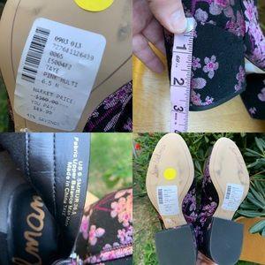 Sam Edelman Shoes - SAM EDELMAN Taye Cherry Blossom Boots Booties 6.5